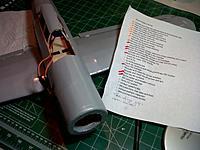 "Name: IMG-20130104-00673.jpg Views: 52 Size: 184.0 KB Description: Blackburn Skua FF to RC conversion. Forward cockpit avionics bay and diminishing ""Things to do"" list."