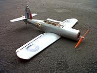 Name: IMG-20130111-00682.jpg Views: 73 Size: 192.1 KB Description: Blackburn Skua FF to RC Conversion. Ready for first flight.