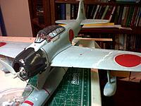 Name: IMG-20130114-00695.jpg Views: 44 Size: 222.9 KB Description: Nakajima A6M2-N Rufe. Post-accident repairs.
