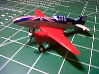"Name: IMG-20130911-01383.jpg Views: 115 Size: 219.6 KB Description: Disney ""planes"" Bulldog, a cartoon DH-88."