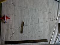 "Name: IMG-20130920-01399.jpg Views: 37 Size: 287.0 KB Description: Cartoon DH-88 ""Bulldog"" wing plan"