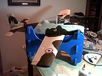 Name: IMG-20140203-01617.jpg Views: 131 Size: 201.7 KB Description: ParkZone T-28, recast after two years as a French Air Force Fennec.