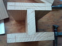 Name: IMG_20140402_102236.jpg Views: 97 Size: 683.8 KB Description: Hole centers measured and marked.