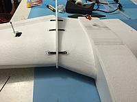 Name: IMG_1055.jpg Views: 225 Size: 493.8 KB Description: I settled on 6 bands per hook.  So 30 bands per wing.