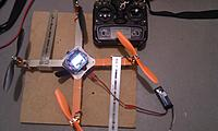 Name: IMAG2552.jpg Views: 89 Size: 141.8 KB Description: Armattan locked down for setup & testing.