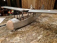 Name: IMG_20161224_205520.jpg Views: 73 Size: 460.2 KB Description: The champ converted to a glider (I don't have any completed pictures) AUW 300g
