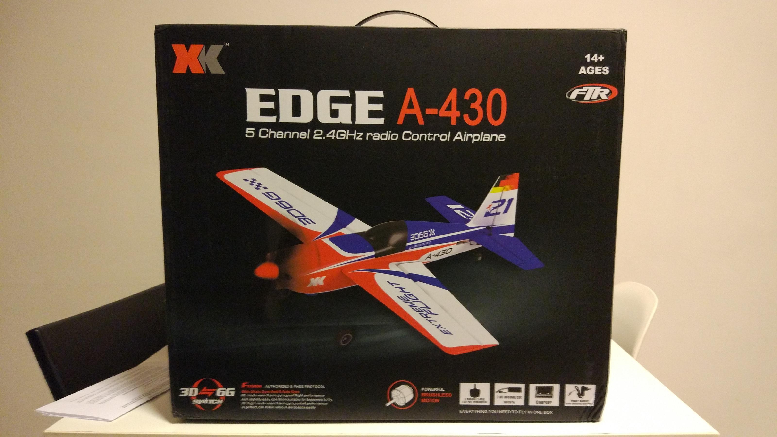 XK A430 2.4G 5CH RC Airplane Spare Part Fuselage