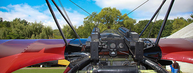 Looking down the business end of the DR.1