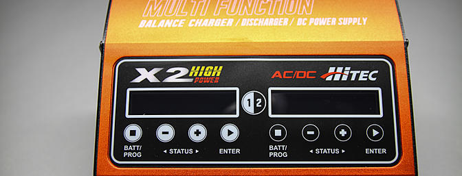The Hitec X2 High Power is a great Dual Port Charger