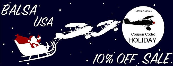 Balsa USA 10% Off Sale