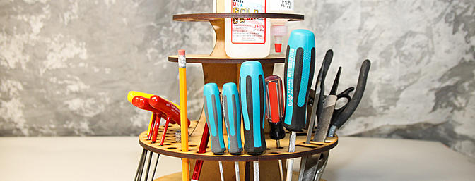 Laine's Planes Round Tool Caddy