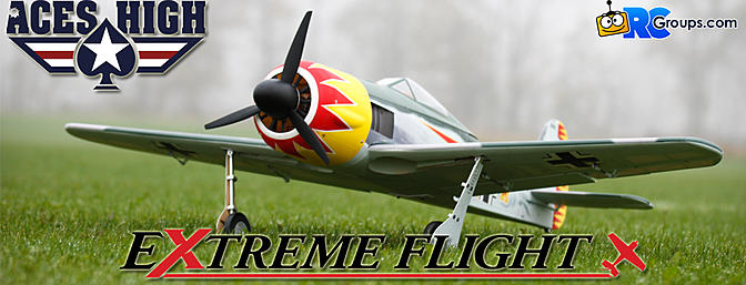 Extreme Flight Aces High Focke-Wulf FW-190A