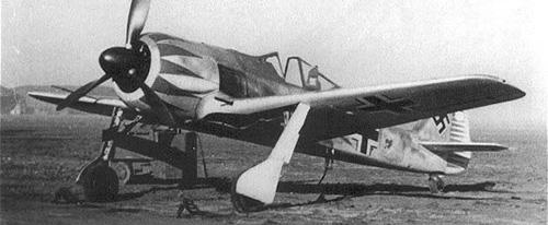 """Red Tulip"" Hermann Graf's FW-190A"