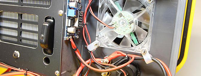 LED Fan wiring