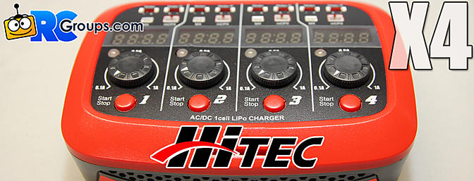 Hitec X4 Micro Multi Charger - RCGroups Review