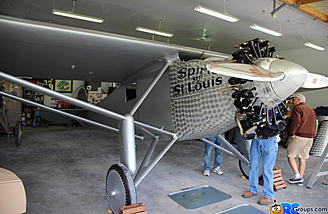 1927 Ryan NYP Spirit of St. Louis replica