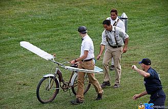 A flying Bike!
