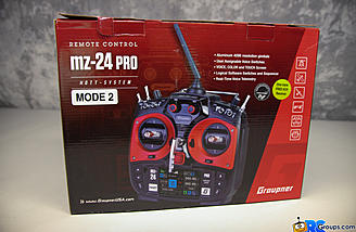 RCGroups checks out the Graupner MZ-24 Pro