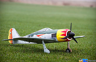 Aces High FW 190A ready for its first sortie