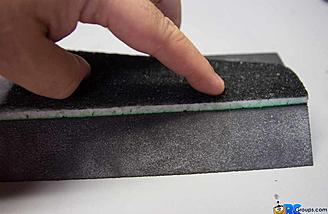 Lay Surface right on edge