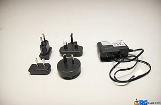 Charger with adaptors