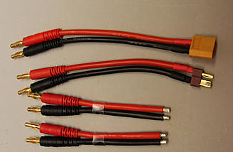 XT-60, T-type, and 18AWG wires