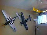 Name: P-51D wall hangar.jpg Views: 93 Size: 126.6 KB Description: AT-6 FW-109 Mustang