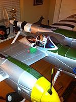 Name: P-38 the little green pilot.jpg Views: 107 Size: 107.9 KB Description: The build continues