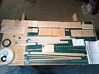 Name: Parts inventoried.jpg Views: 94 Size: 710.2 KB Description: parts laid out for checking against the parts list