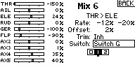 """Name: MIX6 SAFE OFF with normal MIX pst 1 HI THR.jpg Views: 21 Size: 13.4 KB Description: SAFE OFF, NORMAL mix for HI THR range. Box """"1"""" is darkened with Switch """"G"""" in position """"1"""". MIX is active and SAFE is OFF b/c position """"1's"""" value is 0% with switch in position """"1""""."""