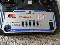 """Name: DSC00966.jpg Views: 91 Size: 644.4 KB Description: The """"bind"""" button is lower left. The """"reverse switches"""" are in the middle. The """"ON/OFF switch"""" is on the right."""