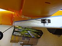 Name: DSC01021.jpg Views: 125 Size: 488.0 KB Description: The elevator control surfaces are setup for minimum throws.