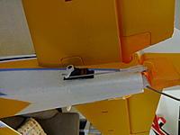 Name: DSC01022.jpg Views: 130 Size: 431.6 KB Description: The RUD surfaces are setup for maximum throws.