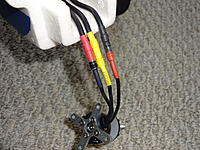 Name: DSC01058.jpg Views: 139 Size: 560.1 KB Description: The motor to ESC wires came with clear tape holding them together.