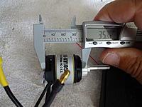 Name: DSC01081.jpg Views: 95 Size: 560.9 KB Description: Motor can length plus base, excluding X-mount is 35.5mm