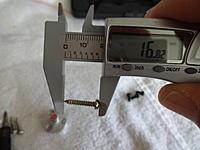 Name: DSC01089.jpg Views: 78 Size: 383.5 KB Description: Motor mount screws are 16.8mm long