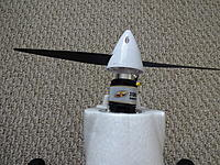 Name: DSC01104.jpg Views: 93 Size: 939.5 KB Description: The thrust angle is to the right about 3 or 4 degrees I'm guessing.