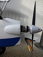 Name: DSC01106.jpg Views: 100 Size: 261.0 KB Description: The prop to firewall shows a few degrees of a downthrust angle.