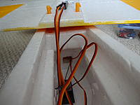 Name: DSC01110.jpg Views: 88 Size: 498.4 KB Description: I routed the antenna aft so it would be as far as possible from things that might block the signal, such as the battery, motor or ESC.