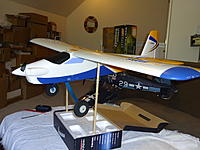 Name: CG 82mm 1300mAh 4.jpg Views: 65 Size: 561.7 KB Description: Horizontal stabilizer is level at 82mm CG with a 1300mAh battery.