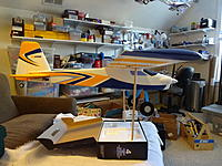 Name: DSC01150.jpg Views: 71 Size: 804.8 KB Description: A level top line, or level horizontal stab, means an ideal CG, or possibly a CG that is slightly nose-heavy. A more forward CG that is nose-heavy is fine but may require aft stick to maintain level flight.