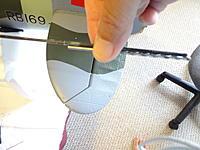 Name: DSC01967.jpg Views: 148 Size: 628.7 KB Description: Measuring to cut CF rod a little shorter than the drill bit.