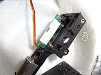 Name: DSC02163.jpg Views: 76 Size: 474.0 KB Description: The spot at the top center of the controller board was being rubbed by the trunnion. It's only accessible once the trunnion is removed.