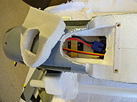 Name: DSC02693.jpg Views: 115 Size: 501.6 KB Description: Gain access by removing the foam section where the vent is. Keep it intact to put back later when the mod is complete.
