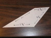 Name: Wildcat 022.jpg Views: 1087 Size: 86.3 KB Description: Tail pattern. It could be a bit larger or smaller.  Or you could make your own design. But its best to have the elevator behind the ailerons.