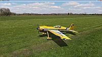 Name: Hangar9 Sukhoi 3.1m  Yellow & Blue.jpg Views: 178 Size: 193.7 KB Description: