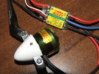 Name: dscf7569_285.jpg Views: 1632 Size: 67.4 KB Description: Motor, prop, spinner and ESC.