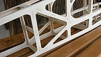 Name: 20150520_140012.jpg Views: 165 Size: 407.2 KB Description: All joints to be smoothed by adding filler and use of fine sandpaper. Edges of the fuselage to be sanded to a radius.
