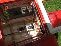 Name: IMG_0346.jpg Views: 244 Size: 666.1 KB Description: Elevator and rudder servo. Rudder pull-pull, elevator carbon pushrod 6/4mm.