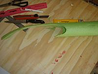 Name: Cut the pool noodle to fit the wing profile.jpg